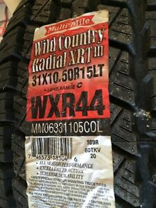 Multi-Mile Wild Country Radial XRT III 31x10.5R15LT Single Tire
