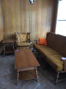 Genuine 70's couch set
