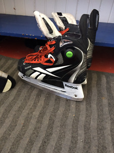 Reebok 6K Size 7 Pump Ice Hockey Skates