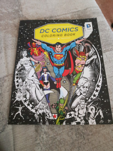 DC Comics Adult Coloring Book