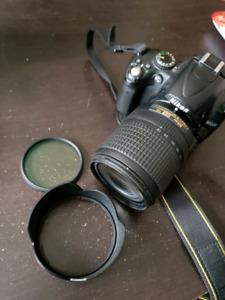 Nikkor 18-140mm f3.5-5.6G objectif zoom lens for Nikon