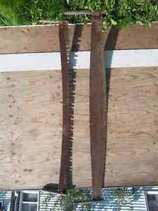 Antique Cross Cut Saws