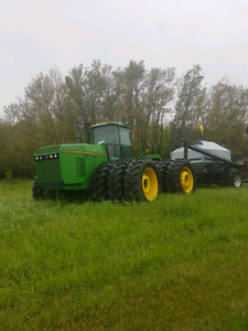 1994 John Deere 8970 ($82'000)& 2001 flexicoil 5000 ($35'000)
