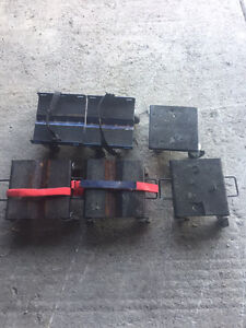 2 SETS OF SNOWMOBILE DOLLIES