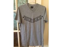 DIesel Men's T-Shirts - Light Grey & Charcoal