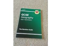 GCSE AQA Geography Revision Guide RRP £5.95