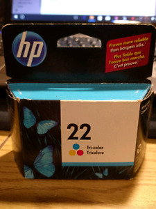 HP 22 Tricolour Printer cartridge