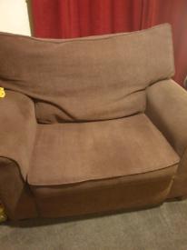 Single sofa bed cuddle chair