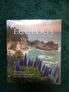 *NEW Looseleaf Ecology 2nd Edition Cain, Bowman & Hacker