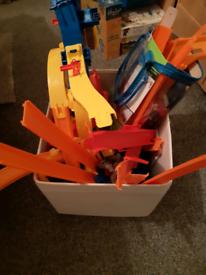 Kids toy hot wheels set