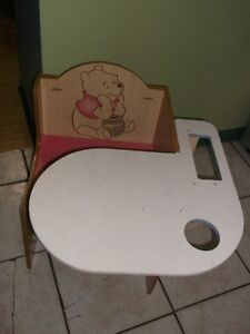 winnie the pooh small toddler desk