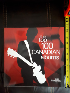 The Top 100 Canadian Albums coffee table hardcover book 2007