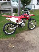 2004 CRF230F Electric start With OWNERSHIP