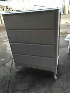 Wood French Provincial Dresser