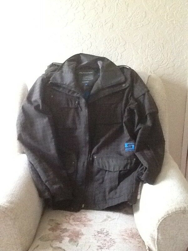 XL Black/Brown Hercules ski jacket