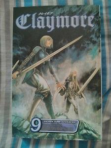 Manga Claymore 1,2,3,8,9,21 english/anglais