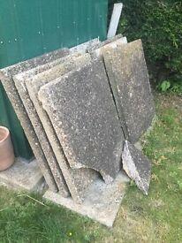 Large Concrete slabs