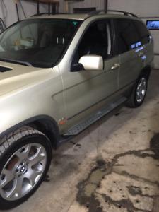 2001 BMW X5 SUV, 4X4 TRUCK