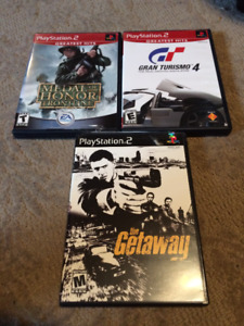 Playstation 2 Games - $10 each or all 3 for $20