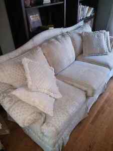 Couch and Loveseat -