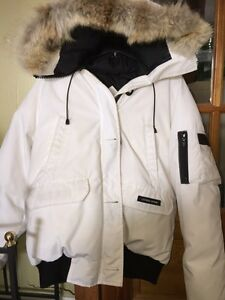 Canada Goose' Snorkel Bomber Size L Msrp $1200 Limited Edision W/ Yuki