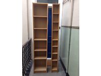 IKEA billy bookcase and cd shelving