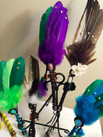 HAND-MADE ANGEL SMUDGE WANDS & QUILLS