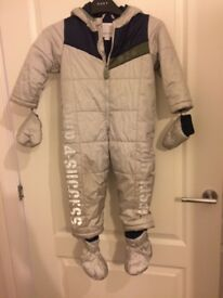 Diesel Padded Snowsuit sized 24 months
