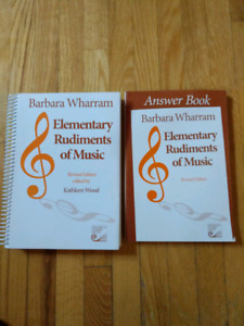 Used music books kijiji in ontario buy sell save with elementary rudiments of music and answer book fandeluxe Gallery