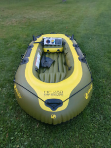 Fish Hunter Inflatable Boat