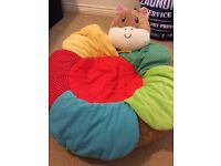 Baby sense toy, cosy nap friend and sit me up friend ( Pete pony )