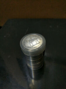 Roll of 1973 Commemorative Silver Dollars