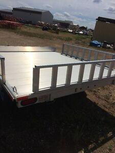 "Everlite 7'x 7'6"" Deck over ATV trailer with Sides Edmonton Edmonton Area image 3"