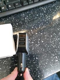 3 USB port single power adapter