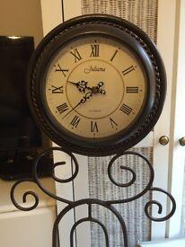 Juliana Iron clock