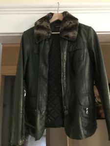 Danier Leather Coat size Med