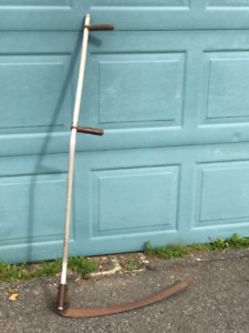 Aluminum Scythe for your out of control backyard