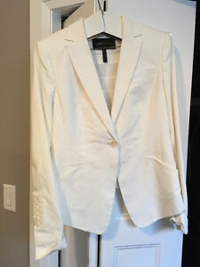 BCBG Maxazria White Pant suit-items can be sold separately