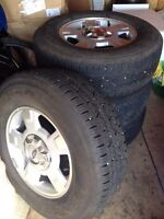 Set of Ford F150 Tire/Rim with Center Cap $600