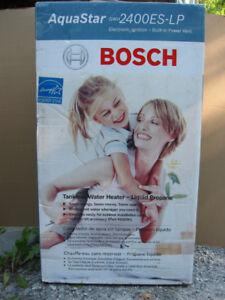 Bosch Tankless Propane Water Heater- Model GWH2400ES-LP