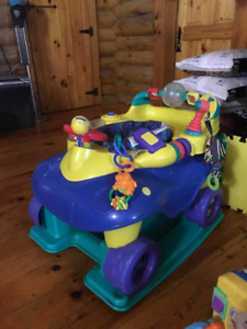 Safety First bouncy car/entertainment saucer