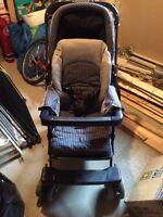 Peg perego Milano stroller / poussette - navy blue