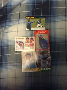5 Different 91-94 Ken Griffey Jr Baseball Cards - 1 1989 Rookie St. John's Newfoundland image 1