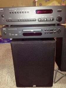 NAD Sound System with DVD.