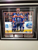 Hall RNH & Eberle Triple signed 11x14