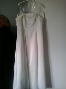 White fancy dress 12 p