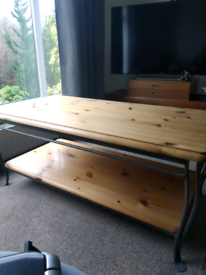 Ducal White Pine Side Table