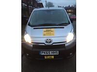 Toyota Proace 8 passanger taxi hire