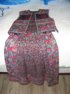 Suttles and Seawinds Vest & Skirt