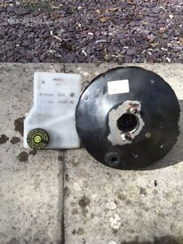 Citreon berlingo master brake cylinder and servo